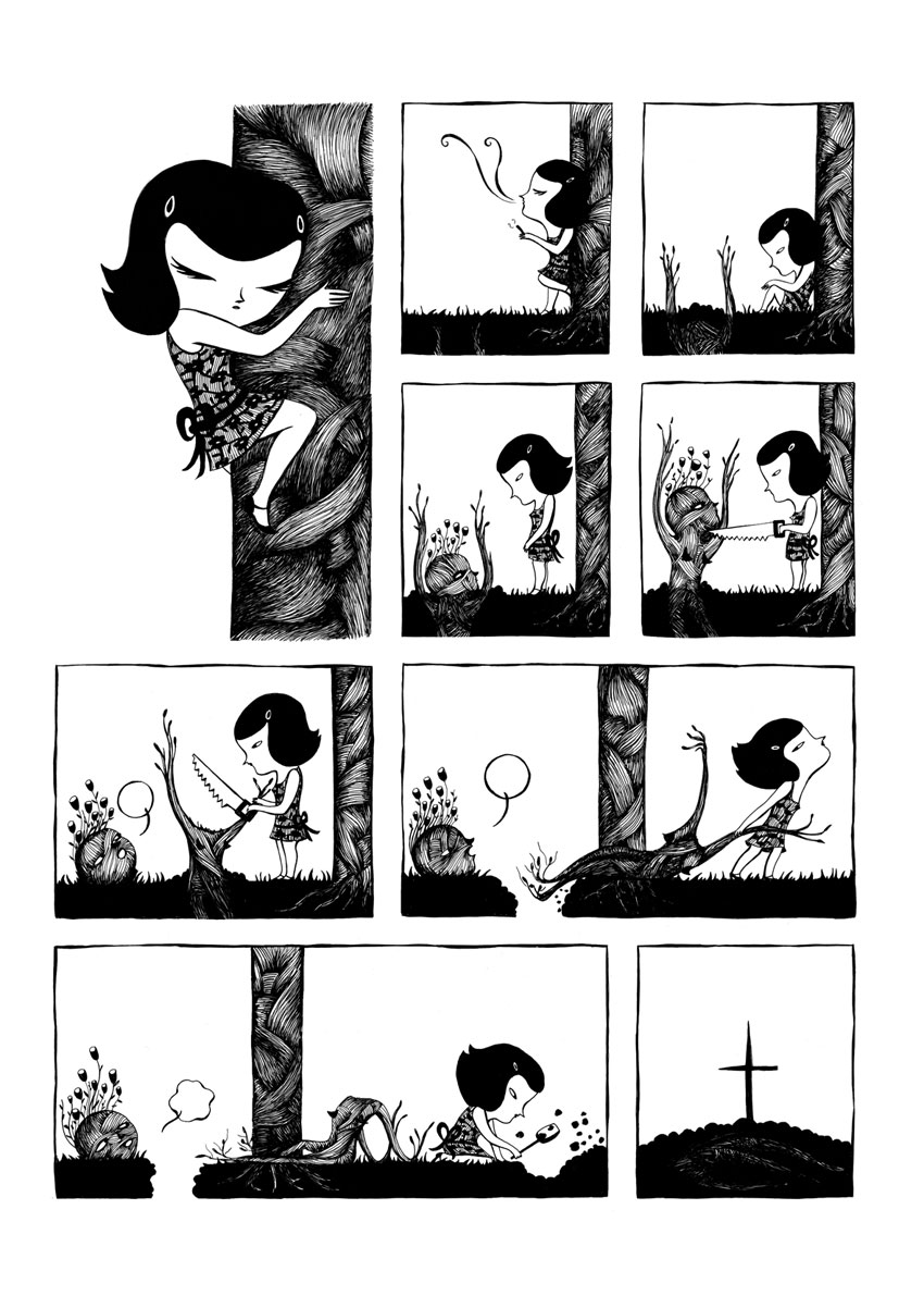 Lola Lorente comic - True Love