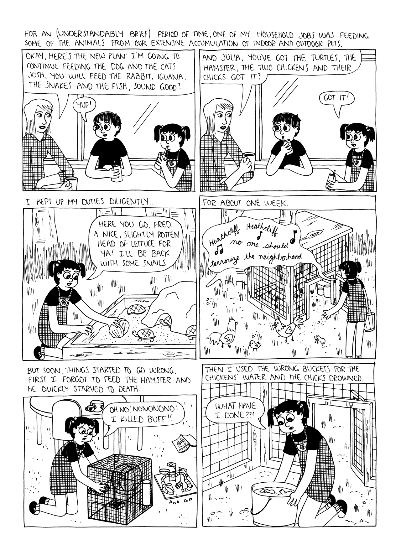 Julia Wertz comic Industry