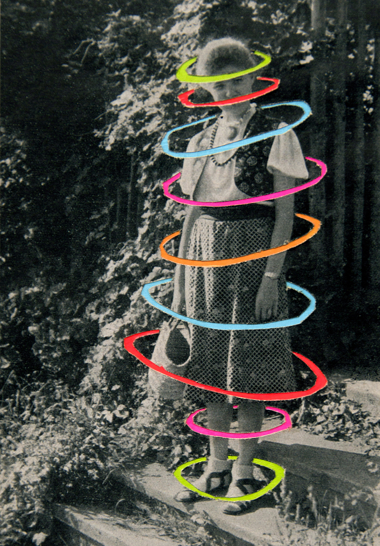 Virigina Echeverria collages - String Us